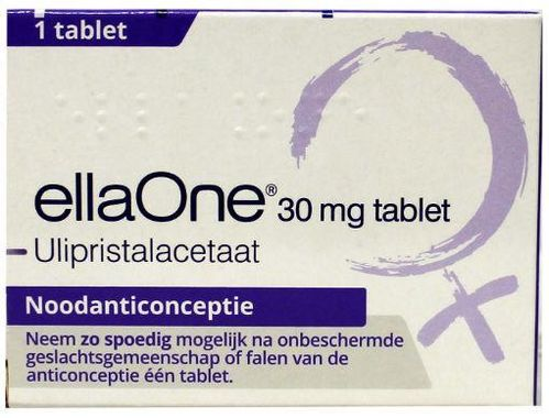 EllaOne tablet 30 mg (morning after) - 1 tablet