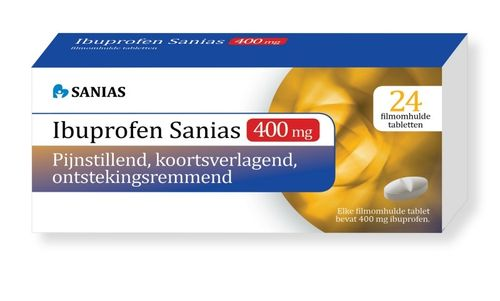 Sanias Ibuprofen 400 mg - 24 tabletten