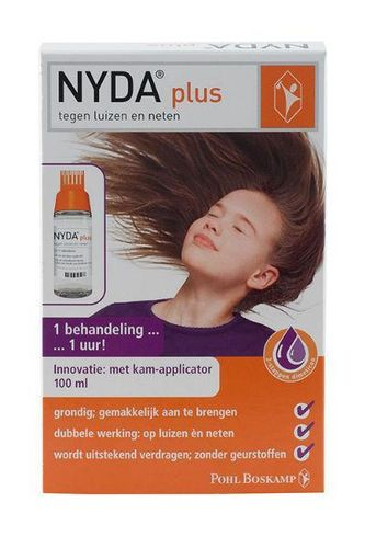 Nyda Plus met kam applicator - 100 ml