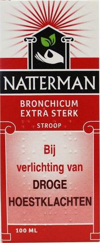 Natterman Bronchicum Extra Sterk (met codeïne) - 100 ml