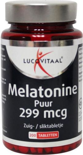 Lucovitaal Melatonine puur 0.299 - 200 tabletten
