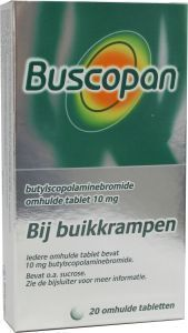 Buscopan 10 mg - 20 tabletten