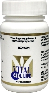 Vital Cell Life Boron 4 mg - 100 tabletten
