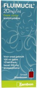 Fluimucil junior drank - 100 ml