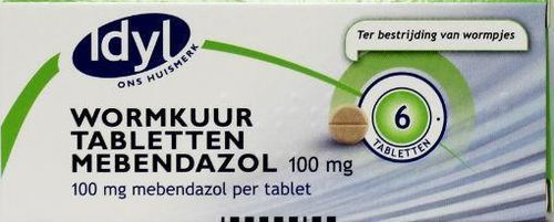 Idyl Wormkuur 100 mg - 6 tabletten