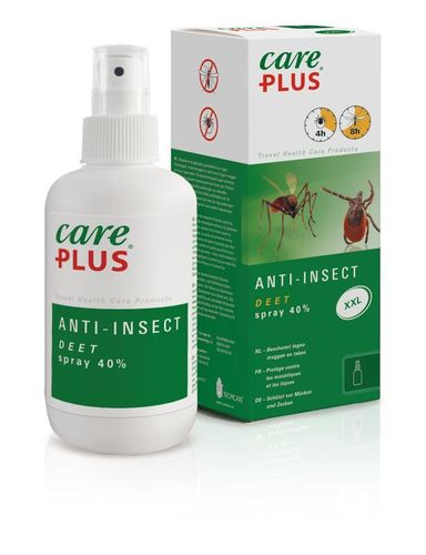 Care Plus Anti-Insect 40% Deet spray - 200  ml