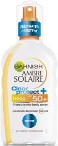 Garnier Ambre solaire clear protect SPF 50+ spray - 200 ml