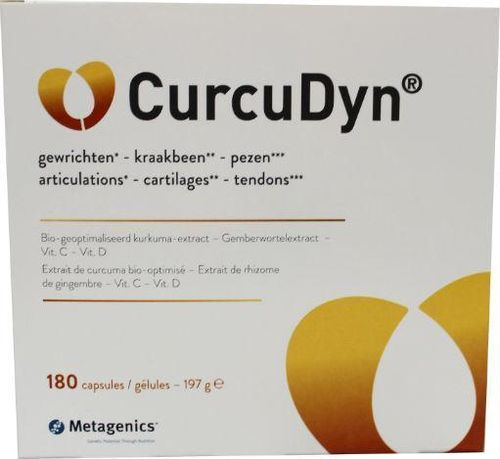 Metagenics Curcudyn NF - 180 softgels