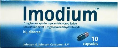 Imodium 2 mg - 10 capsules
