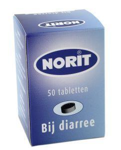 Norit 125 mg - 50 tabletten