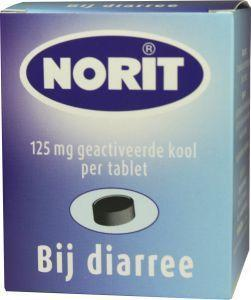 Norit 125 mg - 180 tabletten