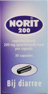 Norit 200 mg - 30 capsules