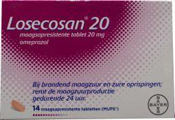 Losecosan 20 mg - 14 MUPS tabletten