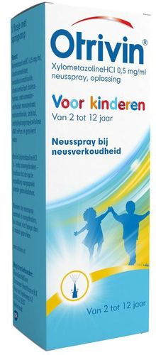 Otrivin Spray 0.5 mg hydraterend 2 - 12 jaar - 10 ml