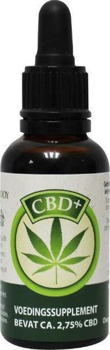 Jacob Hooy CBD Plus olie 2,75% - 30 ml