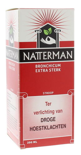 Natterman Bronchicum Extra Sterk (met codeïne) - 200 ml