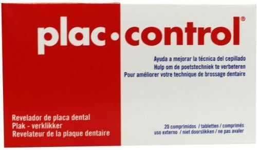 Dentaid Plac Control 5 mg - 20 tabletten