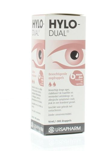 Hylo-Dual oogdruppels - 10 ml