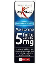 Lucovitaal Melatonine Forte 5 mg - 30 tabletten