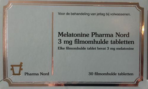 Melatonine Pharma Nord 3 mg - 30 filmomhulde tabletten