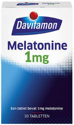 Davitamon Melatonine 1 mg - 30 tabletten