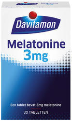 Davitamon Melatonine 3 mg - 30 tabletten