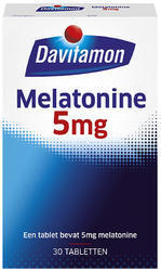 Davitamon Melatonine 5 mg - 30 tabletten