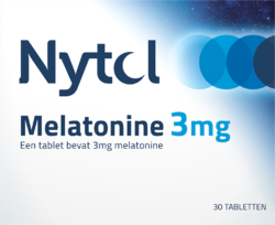 Nytol Melatonine 3 mg - 30 tabletten