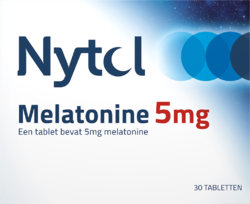 Nytol Melatonine 5 mg - 30 tabletten