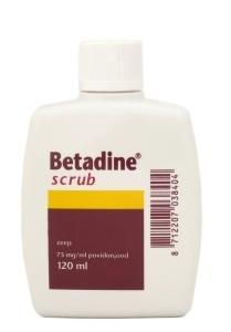 Betadine scrub - 120 ml
