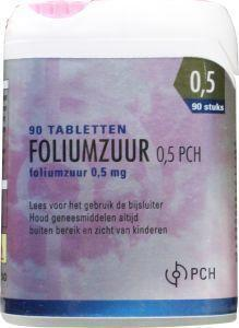 Foliumzuur 0,5 mg TEVA Clicker - 90 tabletten